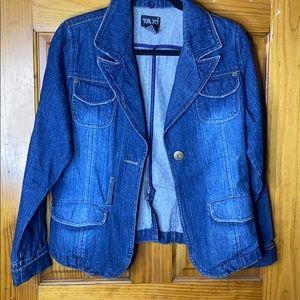 Denim Jacket- Button Up